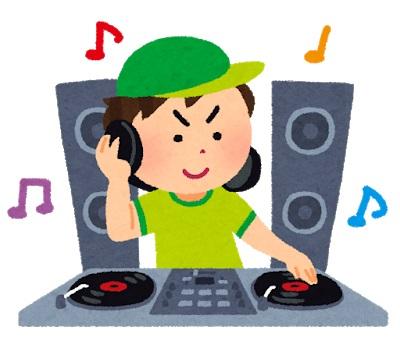 DJの手の動き