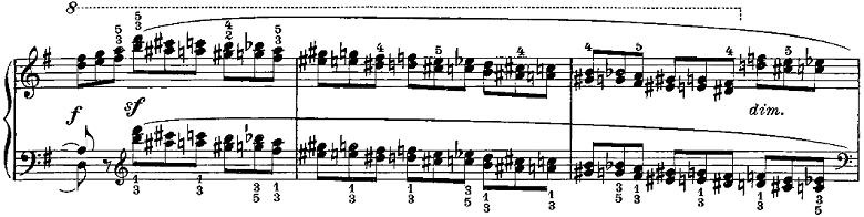 ツェルニー50番練習曲ピアノ楽譜8