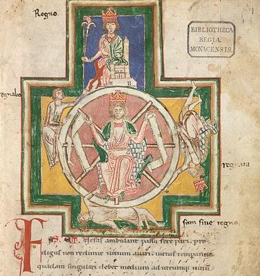 詩歌集「カルミナ・ブラーナ(Carmina Burana)」に描かれた「運命の輪」