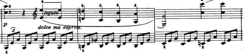 ベートーヴェン「ピアノソナタ第1番ヘ短調Op.2-1第4楽章」ピアノ楽譜6