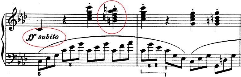 ベートーヴェン「ピアノソナタ第1番ヘ短調Op.2-1第4楽章」ピアノ楽譜7