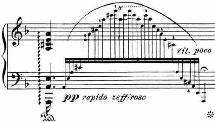 ランゲ「「花の歌」ヘ長調Op.39」ピアノ楽譜7