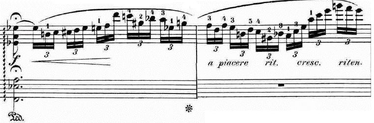 ランゲ「「花の歌」ヘ長調Op.39」ピアノ楽譜8
