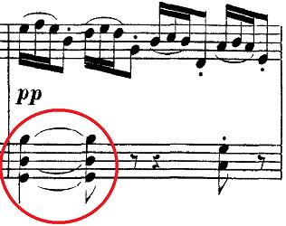 ドビュッシー「2つのアラベスクL.66第2番ト長調」ピアノ楽譜2