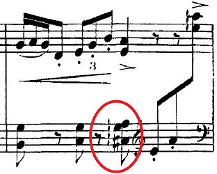 ドビュッシー「2つのアラベスクL.66第2番ト長調」ピアノ楽譜3