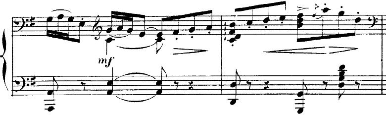 ドビュッシー「2つのアラベスクL.66第2番ト長調」ピアノ楽譜4