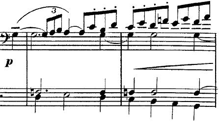 ドビュッシー「2つのアラベスクL.66第2番ト長調」ピアノ楽譜7