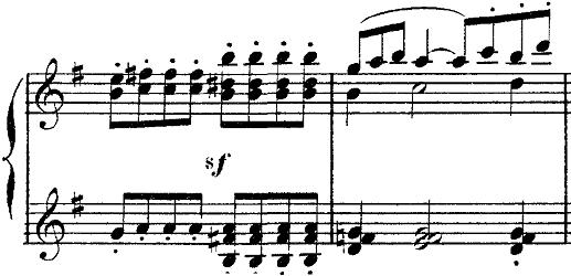 ドビュッシー「2つのアラベスクL.66第2番ト長調」ピアノ楽譜8