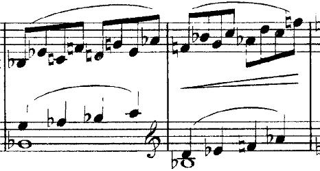 ドビュッシー「2つのアラベスクL.66第2番ト長調」ピアノ楽譜10