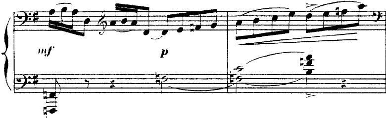ドビュッシー「2つのアラベスクL.66第2番ト長調」ピアノ楽譜12