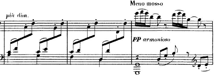 ドビュッシー「2つのアラベスクL.66第2番ト長調」ピアノ楽譜13