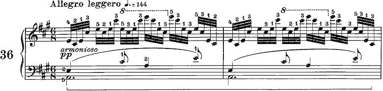 ツェルニー50番ピアノ楽譜2