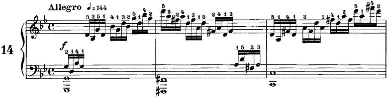 ツェルニー50番ピアノ楽譜3