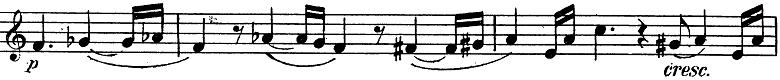 「トランペットとピアノのためのソナタ変ロ調」楽譜6