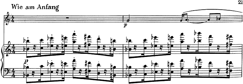 「トランペットとピアノのためのソナタ変ロ調」楽譜11