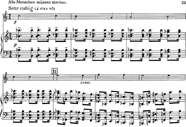 「トランペットとピアノのためのソナタ変ロ調」楽譜12