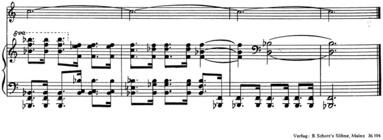 「トランペットとピアノのためのソナタ変ロ調」楽譜13