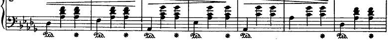 ショパン「ワルツ第6番『子犬のワルツ』変ニ長調Op.64-1」ピアノ楽譜2
