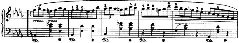 ショパン「ワルツ第6番『子犬のワルツ』変ニ長調Op.64-1」ピアノ楽譜3