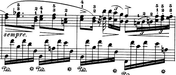 ショパン「ノクターン第8番変ニ長調Op.27-2」ピアノ楽譜2