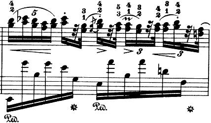 ショパン「ノクターン第8番変ニ長調Op.27-2」ピアノ楽譜3