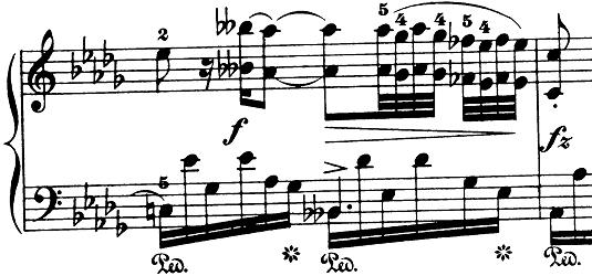 ショパン「ノクターン第8番変ニ長調Op.27-2」ピアノ楽譜4
