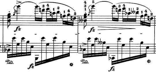 ショパン「ノクターン第8番変ニ長調Op.27-2」ピアノ楽譜7