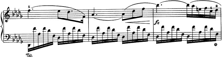 ショパン「ノクターン第8番変ニ長調Op.27-2」ピアノ楽譜8