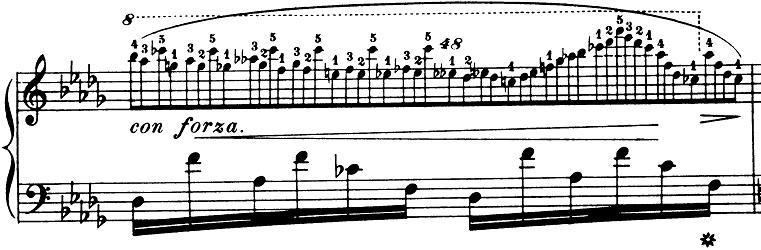 ショパン「ノクターン第8番変ニ長調Op.27-2」ピアノ楽譜9