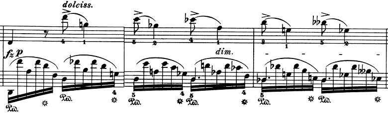 ショパン「ノクターン第8番変ニ長調Op.27-2」ピアノ楽譜10