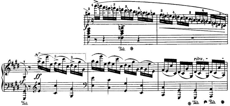 ショパン「即興曲第4番「幻想即興曲」嬰ハ短調Op.66」ピアノ楽譜4