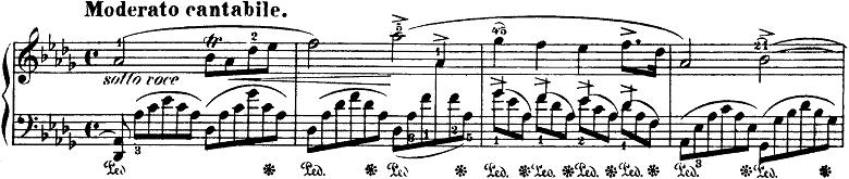 ショパン「即興曲第4番「幻想即興曲」嬰ハ短調Op.66」ピアノ楽譜5