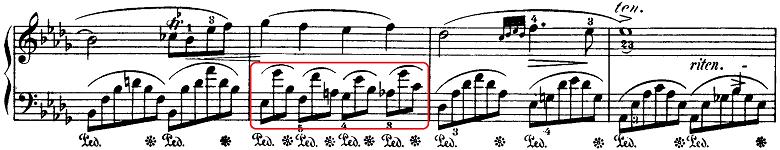 ショパン「即興曲第4番「幻想即興曲」嬰ハ短調Op.66」ピアノ楽譜6
