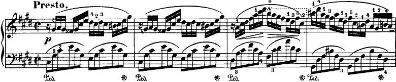ショパン「即興曲第4番「幻想即興曲」嬰ハ短調Op.66」ピアノ楽譜7