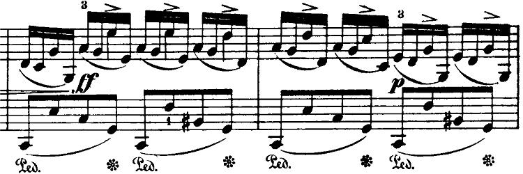 ショパン「即興曲第4番「幻想即興曲」嬰ハ短調Op.66」ピアノ楽譜8