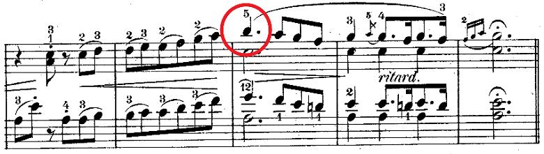 ウェーバー「「舞踏への勧誘」変ニ長調Op.65」ピアノ楽譜3