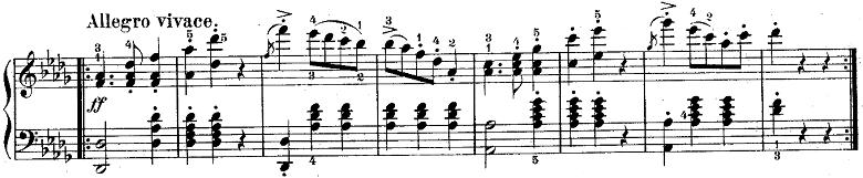 ウェーバー「「舞踏への勧誘」変ニ長調Op.65」ピアノ楽譜4