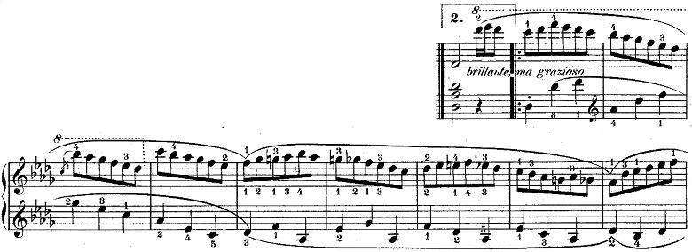 ウェーバー「「舞踏への勧誘」変ニ長調Op.65」ピアノ楽譜5