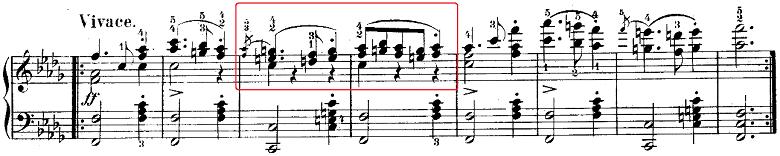 ウェーバー「「舞踏への勧誘」変ニ長調Op.65」ピアノ楽譜8