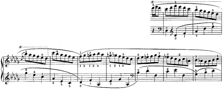 ウェーバー「「舞踏への勧誘」変ニ長調Op.65」ピアノ楽譜12