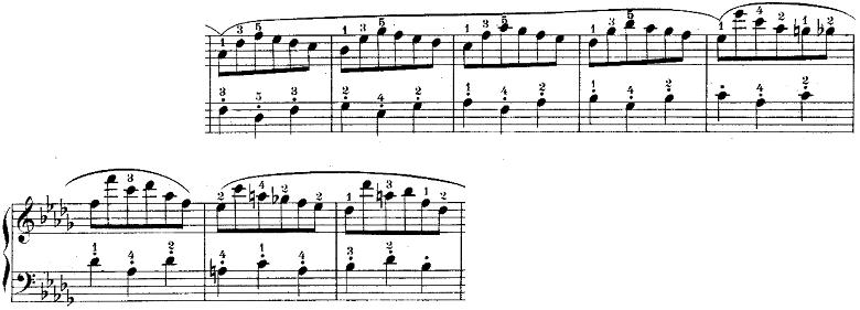 ウェーバー「「舞踏への勧誘」変ニ長調Op.65」ピアノ楽譜13