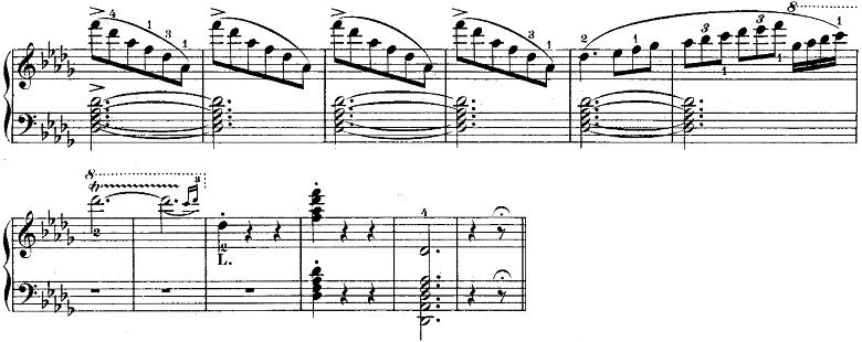ウェーバー「「舞踏への勧誘」変ニ長調Op.65」ピアノ楽譜14