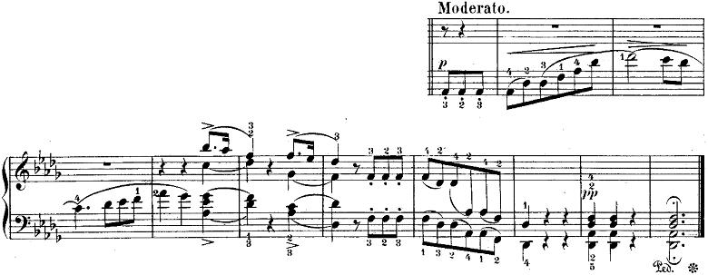 ウェーバー「「舞踏への勧誘」変ニ長調Op.65」ピアノ楽譜15