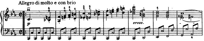 ベートーベン「ピアノソナタ第8番「悲愴」第1楽章」ピアノ楽譜2
