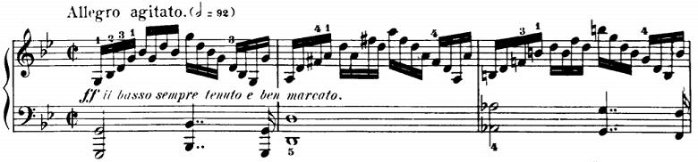 ツェルニー「50番練習より50番」ピアノ楽譜