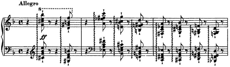 リスト「超絶技巧練習曲より 第4曲「マゼッパ」」ピアノ楽譜
