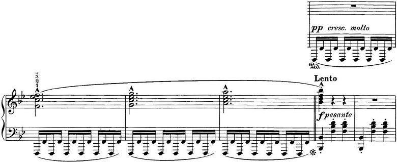 エステン「「アルプスの夕映え」変ロ長調Op.193」ピアノ楽譜2