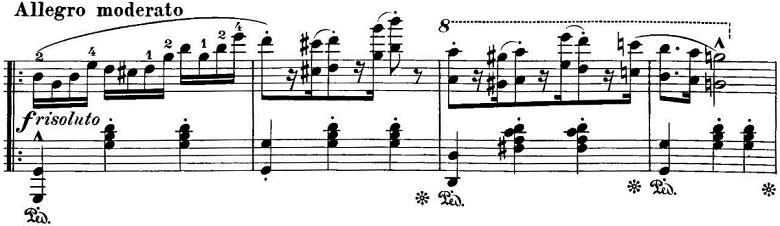 エステン「「アルプスの夕映え」変ロ長調Op.193」ピアノ楽譜4