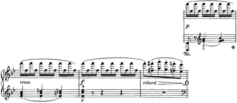エステン「「アルプスの夕映え」変ロ長調Op.193」ピアノ楽譜6