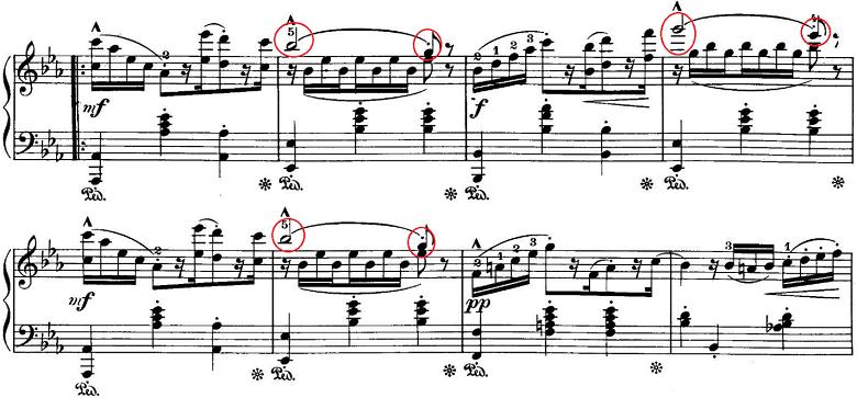 エステン「「アルプスの夕映え」変ロ長調Op.193」ピアノ楽譜8